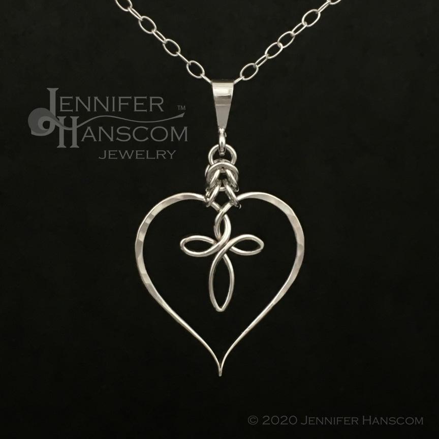 Faith and Love Signature Pendant
