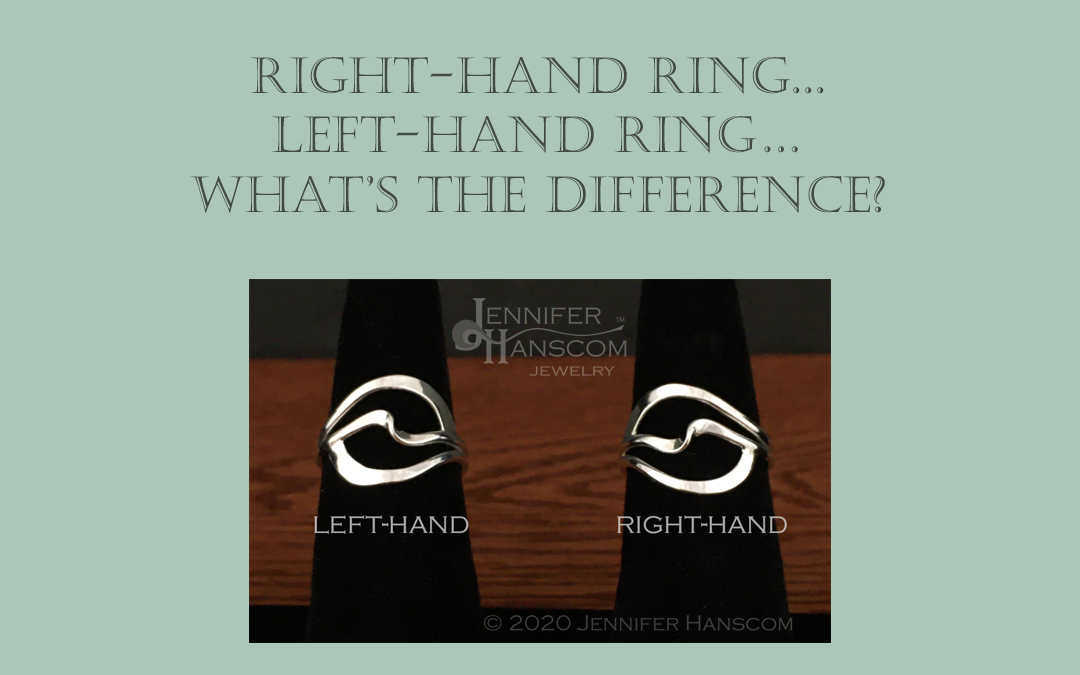 Why some rings are specified as left-hand or right-hand rings…