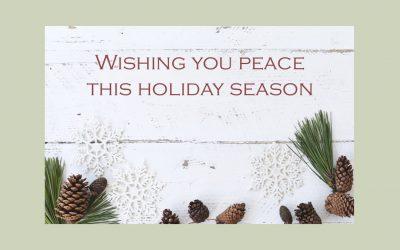 Treasure Every Moment this Holiday Season…